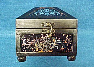 Glass Mirror Wood Box - Hinged (Image1)