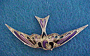 Bird Pin/enameled