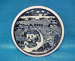 Arabia Wartsila Finland Decorator Wall Plate (Image1)
