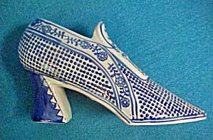 Ceramic Shoe - Cobalt Blue/White (Image1)