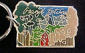 Grand Teton, Wyoming Souvenir Key Chain (Image1)