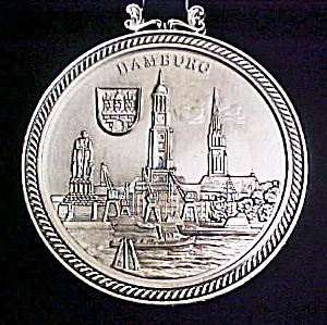 Hanover Metal Souvenir Plaque  (Image1)