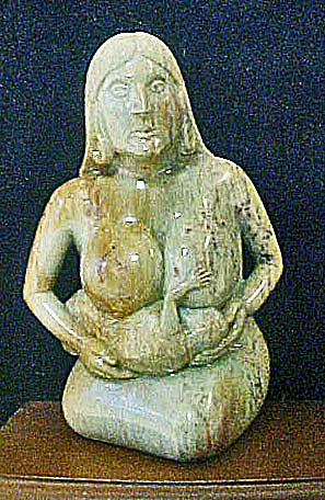 Mother Nursing Infant - 20th Century (Image1)