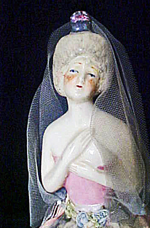 China Lady Boudoir Doll - Vintage (Image1)