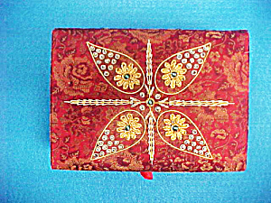 Jewelry Box - Hand Embroidered - India (Image1)