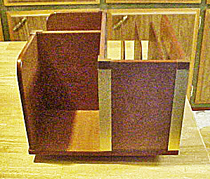 Wooden Book Stand - Organizer - Revolving (Image1)