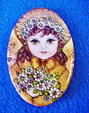 Tin Young Child Fashion Pin