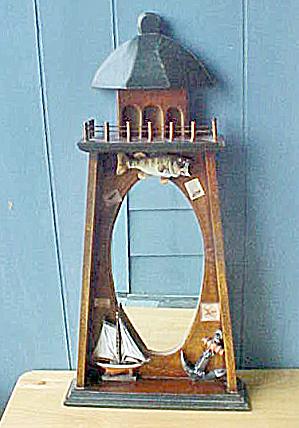 Fishing Mirror - Black Bass/Sailboat/Anchor (Image1)