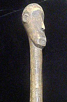 Wooden Mace/Club - Figure Head (Image1)