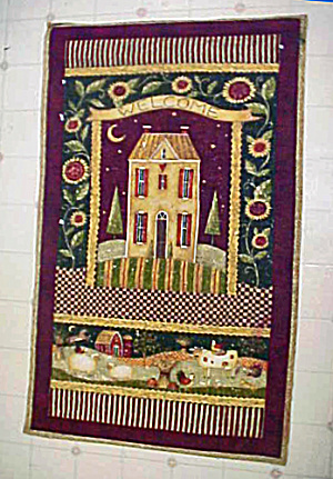 Quilted Style Wall Hanging - Amish (Image1)