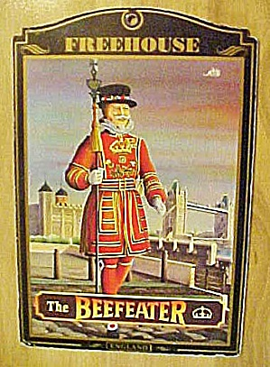 The Beefeater Pub Sign