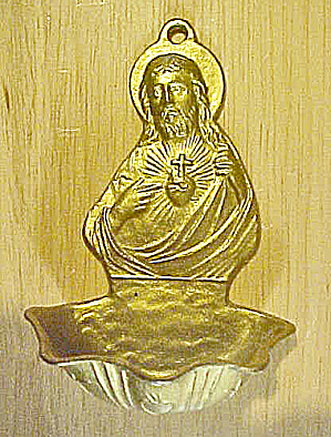 Miniature Holy Water Font
