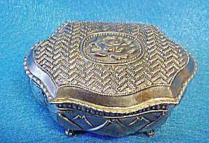 Floral Trinket Box - Hinged (Image1)