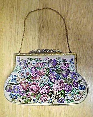 Floral Tapestry Evening Purse
