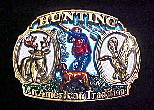 Hunting Metal Belt Buckle (Image1)