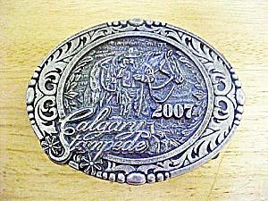 Calgary Stampede 2007 Metal Belt Buckle (Image1)