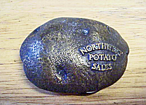Northwest Potato Sales Metal Belt Buckle (Image1)