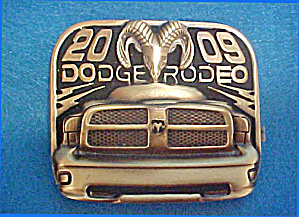 Dodge Rodeo 2009 - Metal Belt Buckle (Image1)