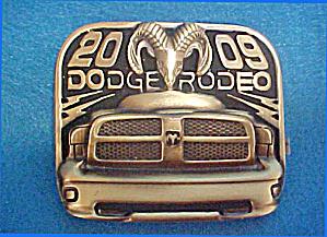 Dodge Rodeo 2009 - Metal Belt Buckle (Image1)
