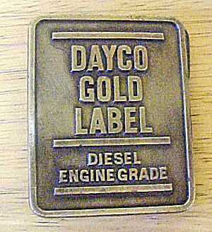 Dayco Gold Label Diesel Belt Buckle (Image1)