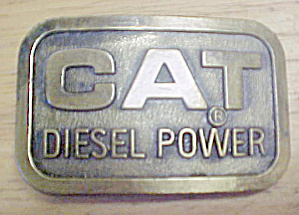 Cat Diesel Power Belt Buckle (Image1)