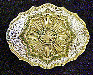 Crumrine Indian Winter Belt Buckle (Image1)