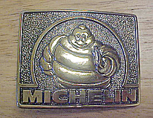 Michelin Man Metal Belt Buckle