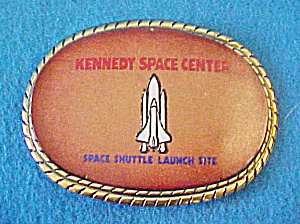 Kennedy Space Center Belt Buckle