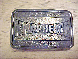 Knapheide Mfg. Metal Belt Buckle (Image1)