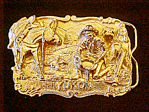 Yukon Prospector Belt Buckle - Signed (Image1)