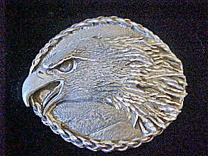 EGE Eagle's Head Belt Buckle - 20th Century (Image1)
