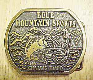 Blue Mountain Sports/challis Idaho Buckle