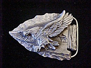 Siskiyou Pewter Eagle Belt Buckle (Image1)