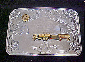 Beall's Petroleum Semis Belt Buckle