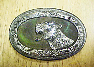 Cii New York - Mountain Lion Belt Buckle