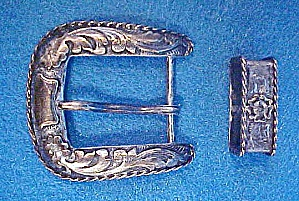 Ss Belt Buckle Set - 20th Century