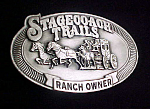 Stagecoach Trails Ranch Owner Belt Buckle