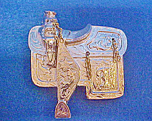 Western Saddle Belt Buckle (Image1)