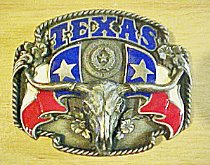 Siskiyou Texas Long Horn Belt Buckle (Image1)