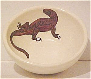 Southwestern Lizard Design Bowl (Image1)