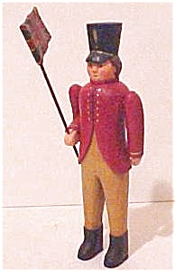 Hand Carved Wooden British Soldier (Image1)