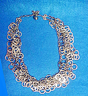 Kramer Multi-Rings Metal Necklace (Image1)