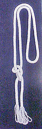 Small Beaded Lariat Rope Necklace (Image1)