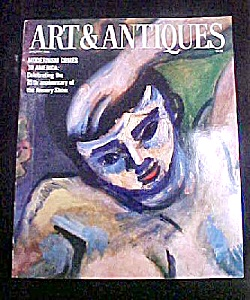 Art & Antiques Magazine - January 1988 (Image1)