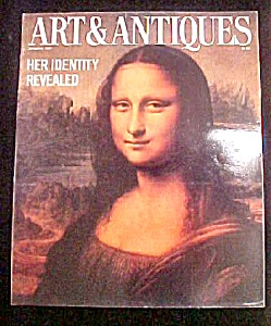 Art & Antiques Magazine - January 1987 (Image1)
