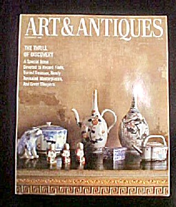 Art & Antiques Magazine - November 1986 (Image1)
