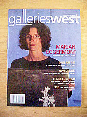 Gallerieswest Canadian Magazine - 2005