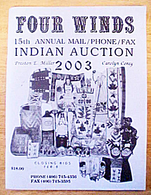 Four Winds Indian Auction Catalog - 2003 (Image1)