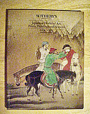 Sotheby's Japanese Works of Art Catalog (Image1)
