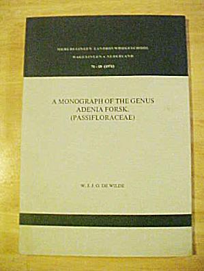 Adenia Forsk - Passifloraceae (Image1)
